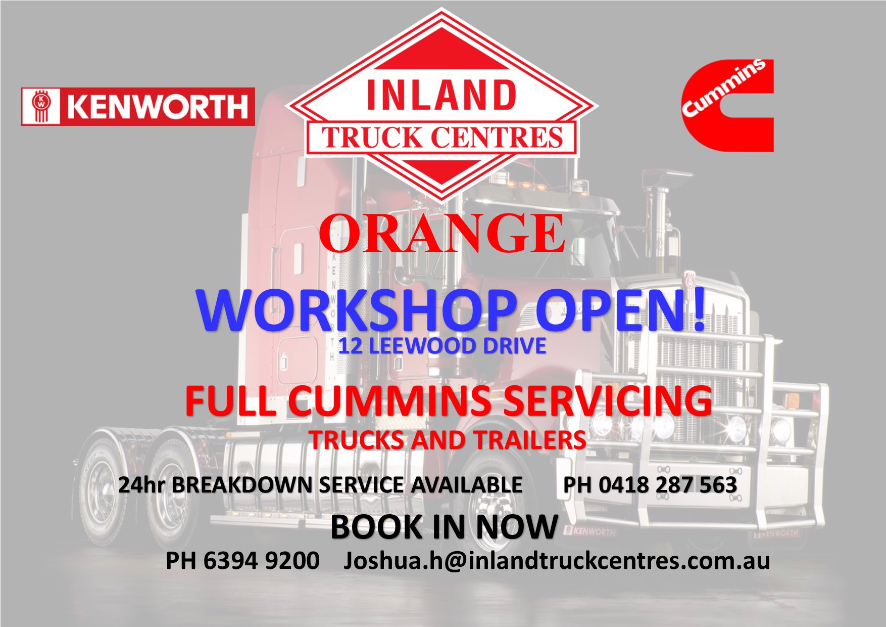 Orange Workshop is OPEN Feature Image