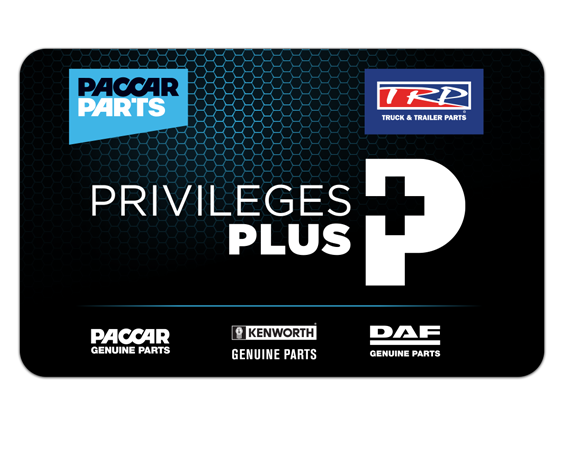 Paccar Previleges Card